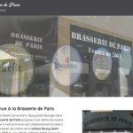 Brasserie de Paris à Bussy St Georges